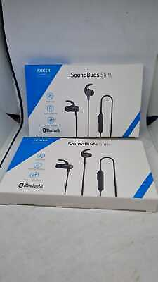 AU68.38 • Buy Pack Of 2 X Anker Soundbuds Slim Bluetooth Headphones
