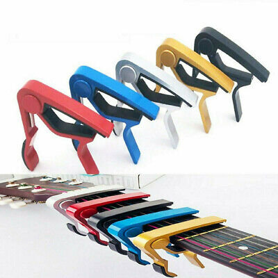 $ CDN5.67 • Buy Guitar Capo Acoustic Clip Guitar String Instrument Clamp Fret Electric