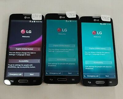 $ CDN63.62 • Buy LOT Of 3 LG Optimus L90 D415 8GB T-Mobile ONLY Assorted Smart Cellphone #902