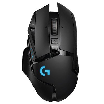 AU224.99 • Buy Logitech G502 RGB Lightspeed Powerplay Wireless Charging Gaming Mouse Black TS