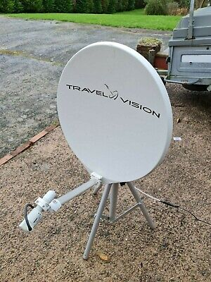Travel Vision R6 65cm Fully Automatic Satellite Dish For Caravan/motorhome • 400£