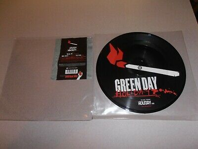 Green Day - Holiday 7 (Pic Disc) Punk/Nirvana/Offspring/Foo Fighters/The Clash • 15£