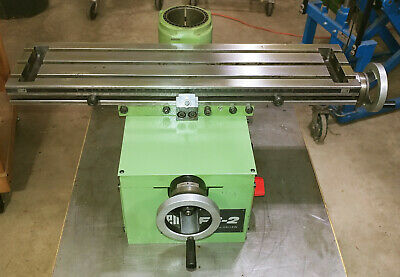 $1995 • Buy Emco Maximat FB-2 XY Table For Mill Drill - Inch Based L12T