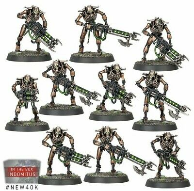 £20 • Buy 10x Necron Warriors And 3x Canoptek Scarab Swarms From 40K Elite Edition Set