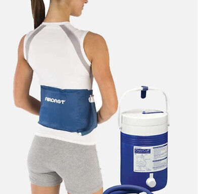 £54.32 • Buy Aircast Cryo Cuff Cold Therapy Back Hip Rib Complete SET Ships FREE!