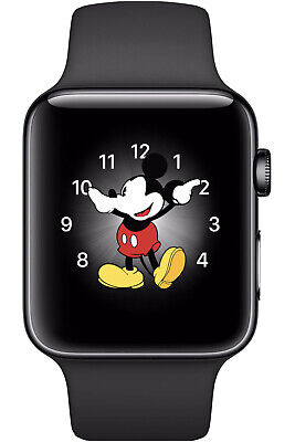 $ CDN708.34 • Buy Apple Watch Series 2 42mm Stainless Steel Black Smat Watch - (MP4A2LL/A)