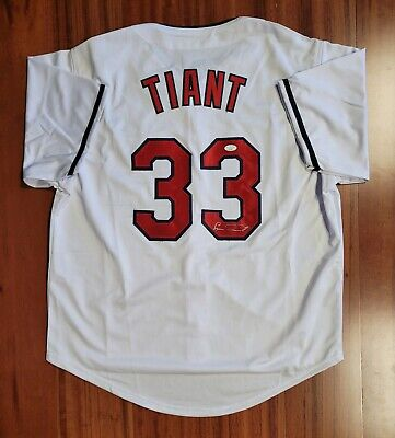 $ CDN38.20 • Buy Luis Tiant Autographed Signed Jersey Cleveland Indians JSA