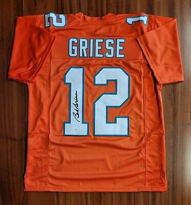 $ CDN38.20 • Buy Bob Griese Autographed Signed Jersey Miami Dolphins JSA