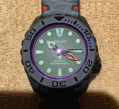 $ CDN575 • Buy SEIKO SKX007 Mod  The Red And The Black