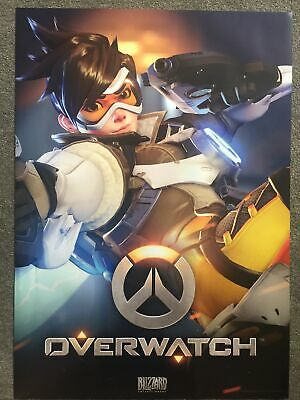 AU12.50 • Buy Overwatch Double Sided A1 Poster