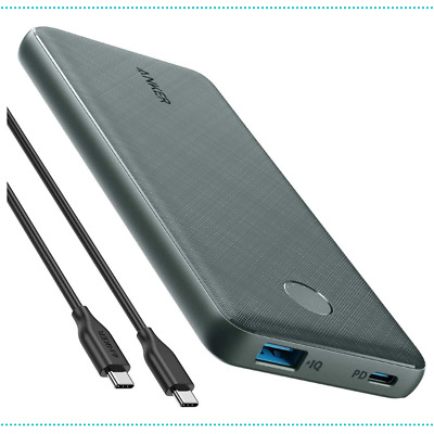 AU101.94 • Buy Power Bank Charger Portable USB-C Power Delivery Fast Charge 18W 10000mAh