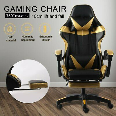 AU115 • Buy Gaming Chair Office Executive Computer Chairs 360°Swivel Racing Recliner