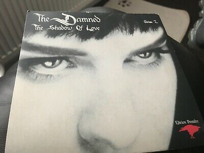 The Damned:the Shadow Of Love(edition Premiere)  7  Vinyl Single Picture Sleeve • 1£
