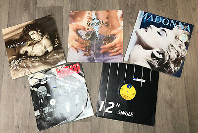 MADONNA JOB LOT LP RECORDS 12'' Singles & Gloria Estefan • 10£