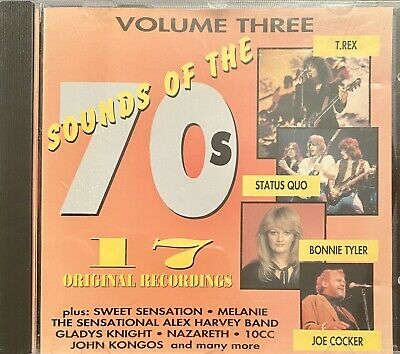 Various Artists: Sounds Of The 70's Volume 3 (Official CD Compilation) Free Post • 1.75£