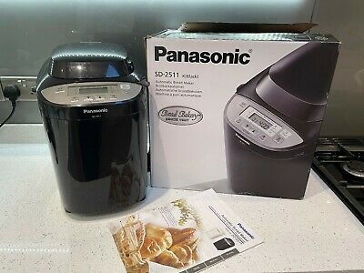 Panasonic SD-2511KXC  Breadmaker, Instructions & Box.  Less Than 12mnth Old. • 102£