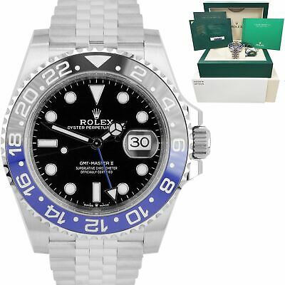 $ CDN21083.83 • Buy BRAND NEW JAN 2021 Rolex GMT-Master II Batman Black Blue SS Ceramic 126710 BLNR