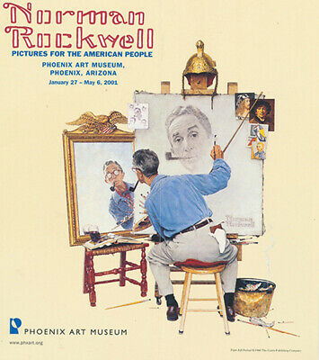$ CDN21.65 • Buy Norman Rockwell Pictures For The American People (2 Brochures From The Phoenix..