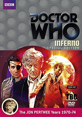 Doctor Who: Inferno (DVD) (2013) Jon Pertwee (Special Edition) • 5.22£
