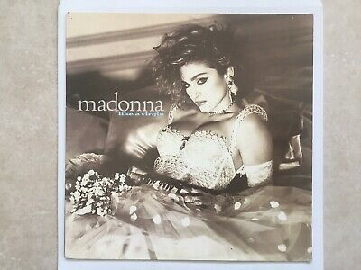 Madonna Like A Virgin Vinyl LP S & V Vg+ With Lyric Inner • 4£