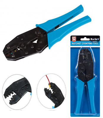 £9.29 • Buy Blue Spot 9  Ratchet Crimper Cable Wire Terminals Electrical Plier Crimping Tool