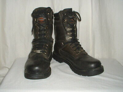$ CDN60.40 • Buy Men's Harley Davidson Black Motorcycle Boots Size 10