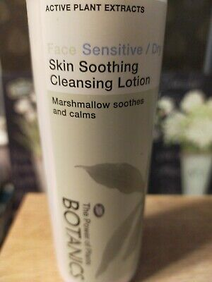 Boots Botanics Large 250 Ml Face Skin Soothing Cleansing Lotion, Sensitive / Dry • 2.99£