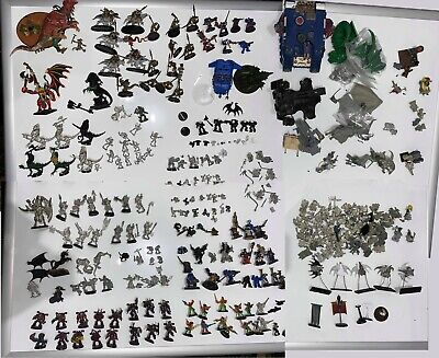 AU800 • Buy Massive Warhammer Metal And Plastic Lot, AOS 40k Chaos Dwarf Space Marine Khorne