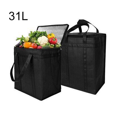 Extra Large Insulated Cooler Ice Cool Bag Box Picnic Food Drink 31L Tools Set • 8.59£
