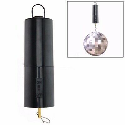 £8.99 • Buy Mirror Ball Motor Spin Battery Operated Rotating Turning Disco Party Wedding Set