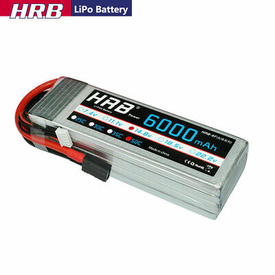 AU88.86 • Buy 14.8V 4S 6000mAh LiPo Battery 50C Traxxas For RC Car Truck Helicopter Airplane