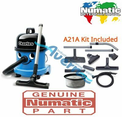 £159 • Buy Numatic Charles CVC370-2 Vacuum Cleaner Hoover Wet & Dry 3 In 1 Blue A21A Kit