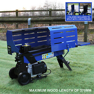 AU485.32 • Buy Log Splitter 5 Ton Timber Fire Wood Cutter 3L Hydraulic Electric 2000W Motor