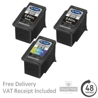 Premium Remanufactured Canon PG-540XL & CL-541XL High Capacity Ink Cartridges • 15.95£