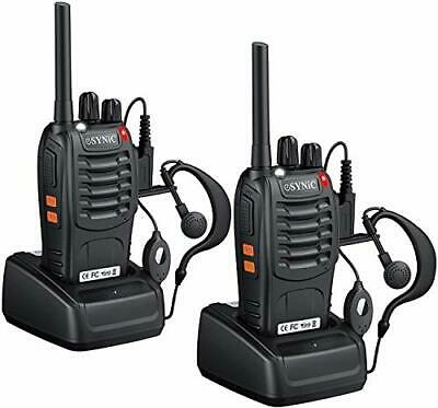 $ CDN66.44 • Buy Fugen 2pcs Walkie Talkies Long Distance-2 Way Radio Long Range Walkie Talkie