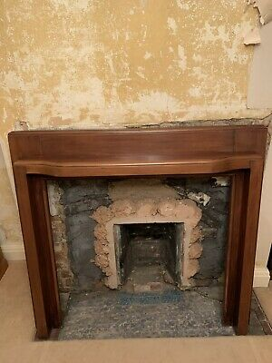 Large Wooden/Mahogany Fire Surround • 60£