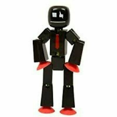 New Original Stikbot Robot Stop Motion Animation Stickbots Figure App Toys Black • 10.43£