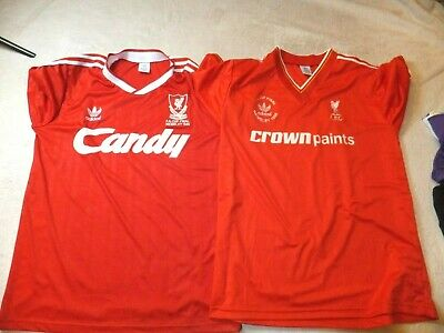 Liverpool Football T Shirt Fa Cup Final 1986 1989 Size Xl Adult Mint 2 X Job Lot • 26£