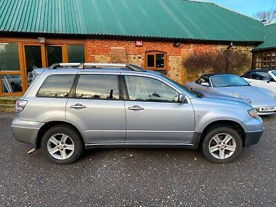 Mitsubishi Outlander 2.4 LPG Auto 2004 Sport SE Silver Full Leather PX To Clear • 1,000£
