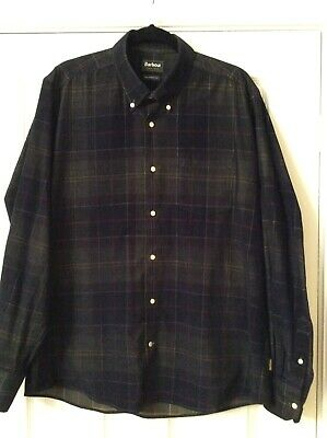 Men's Barbour Lawerence Shirt XL Tailored Fit • 12£