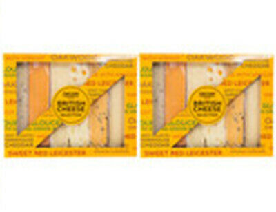 £32.99 • Buy British Cheese Selection, 12 X 200g (Serves 48 People)