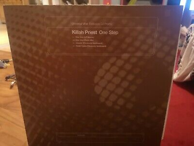KILLAH PRIEST - One Step ~ 12  Single PS Promo Hip Hop Vinyl Wu Tang Family  • 4.99£