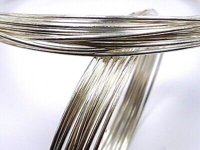 630ft Solid 999 Pure Fine Silver 30ga Dead Soft Round Wire 3.02 Troy Ounces