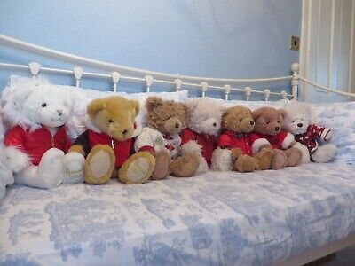 Collection Of Harrods 13   Foot Dated Teddy Bears 1998 - 2018 - Collectable • 25£
