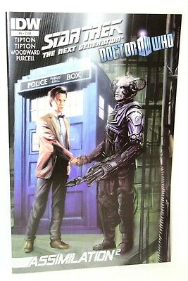 Star Trek Doctor Who Assimilation 2 Squared #6 2012 Comic IDW Comics VF • 3.44£