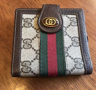 $69.99 • Buy Vintage Gucci GG Wallet Made In Italy