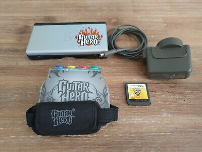 AU100 • Buy NINTENDO DS LITE CONSOLE LIMITED EDITION GUITAR HERO EDITION With Grip And Game