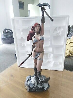 Red Sonja Exclusive Sideshow Collectibles Statue • 550£