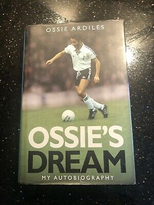 Rare Signed Ossie Ardiles Autobiography / Book - H/b - Spurs Swindon Argentina • 29.99£
