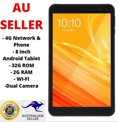 AU170 • Buy Teclast P80X 8  Octa Core 2G+32GB 4G LTE Android 9.0 WiFi Tablet PC Dual Camera